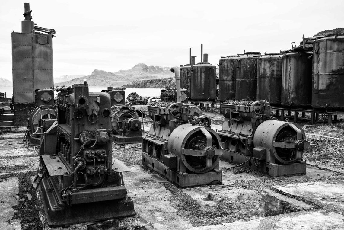 Walfangstation «Grytviken» auf Süd Georgien